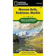National Geographic Maroon Bells/Redstone/Marble Trail Map