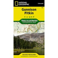 National Geographic Gunnison/Pitkin Trail Map