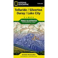 National Geograpic Telluride/Silverton/Ouray Trail Map