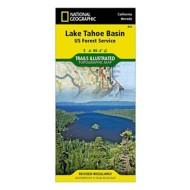 National Geographics Lake Tahoe Basin Trail Map