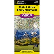 National Geographic Maps United States Rocky Mountain Adventure Map