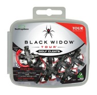 Black Widow Tour Fast Twist Golf Replacement Spikes - 18 Pack
