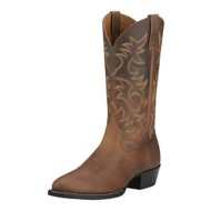 Men's Ariat Heritage R Toe Western Boots