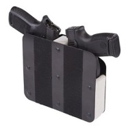 Bench Master Double Handgun Velcro Hook Rack