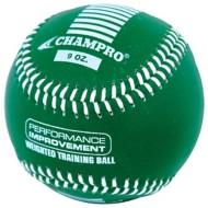 Champro 9 oz. Weighted Training Baseball
