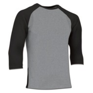 Men's Champro Extra Innings 3/4 Sleeve Baseball Shirt