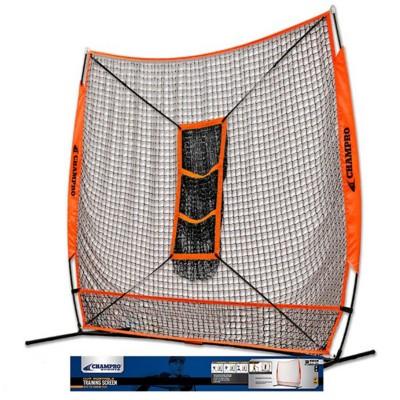 Champro Mvp Portable Training Net With Tz3 Training Zone