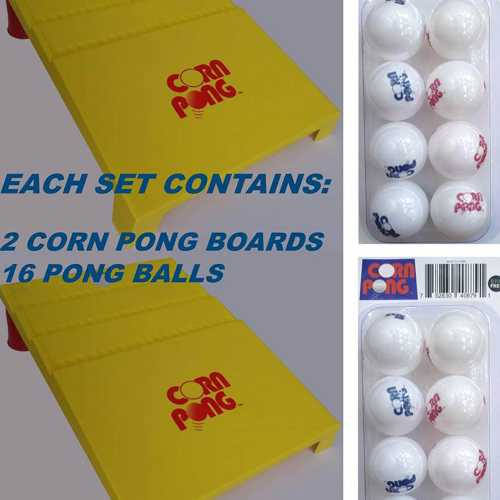 Corn Pong