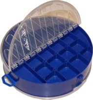 Solutions Products Round Tackle Box