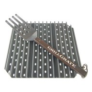 "GrillGrate Grate for The Big Green Egg Large Kamado Joe Classic and all 18"" Diameter Grills"