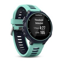 Garmin Forerunner 735XT - GPS Running Watch with Multisport Features and Wrist-based Heart Rate - Midnight Blue and Frost Blue