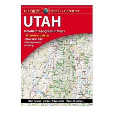 DeLorme Atlas and Gazetteer Paper Maps - Utah