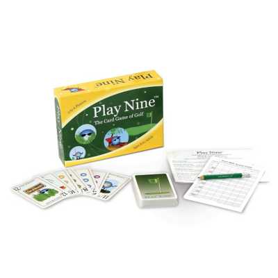 Play Nine Golf Card Game