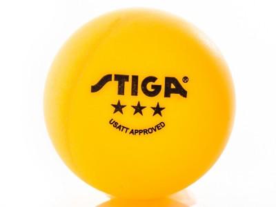 STIGA Classic 3-Star Table Tennis Ball 6-Pack