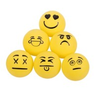 STIGA One Star Emoji Table Tennis Ball 6-Pack