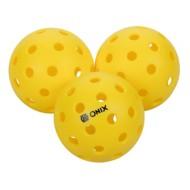 ONIX Pure 2 Outdoor Pickleball Balls - 3 Pack