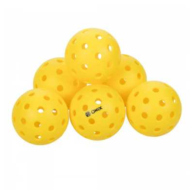 ONIX Fuse 2 Outdoor Pickleball Balls - 6 Pack