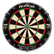 Nodor Supermatch 3 Bristle Dartboard