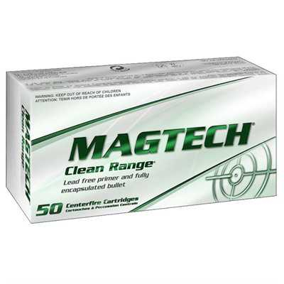 MagTech Ammo 9mm Luger 124 Gr Fully Encapsulated Bullet 50/b