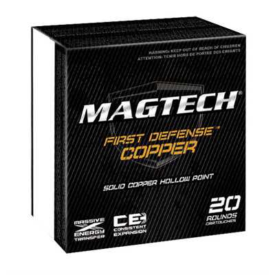 MagTech Ammo 45 Auto 165 Gr Solid Copper HP 20/bx