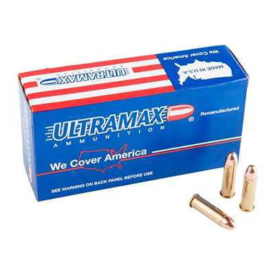 Ultramax Ammo 9mm 125 Gr FMJ 50/bx