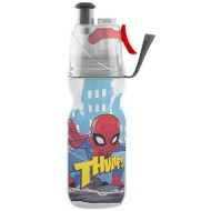 O2Cool LLC insulated ArticSqueeze Mist 'N Sip Spiderman Bottle