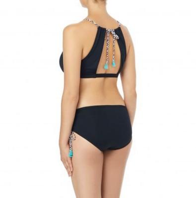 Women's Beach House Blair Spliced High Neck Bikini Top