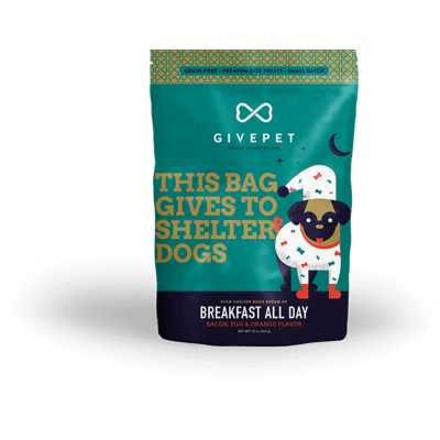 GivePet Breakfast All Day Dog Treats