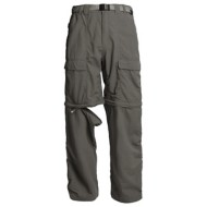 "Men's White Seirra Trail Convertible 34"" Inseam Pant"