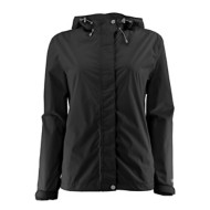 Women's White Sierra Trabagon Rain Jacket