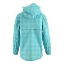 Youth Girls' White Sierra Trabagon Printed Rain Jacket