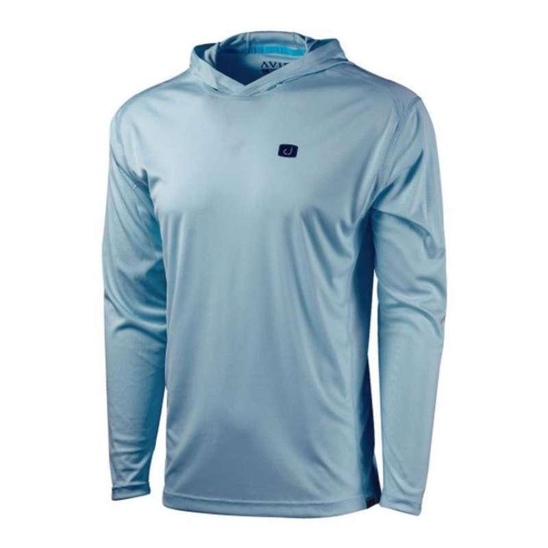 Men's AVID Sportswear Kinetic Hooded AVIDry 50+ UPF Long Sleeve T-Shirt
