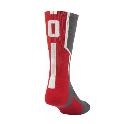 Adult TCK Player ID Red Sock