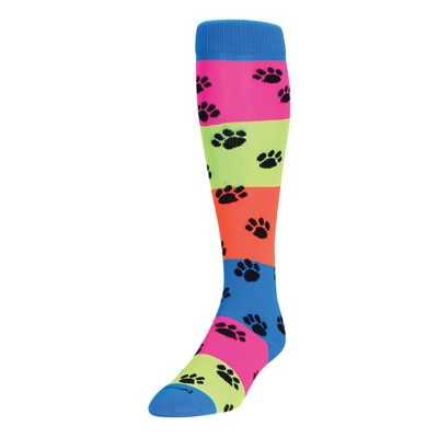Adult TCK Rainbow Paws Socks