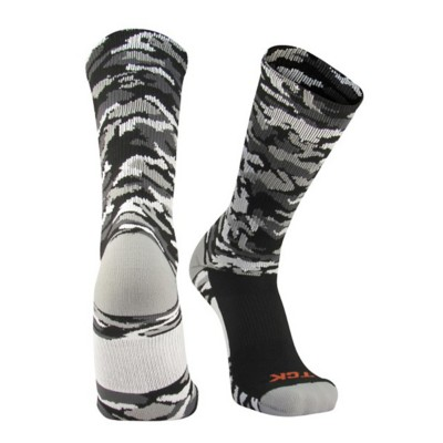 Adult TCK Woodland Camo Socks