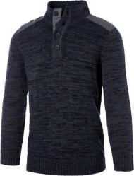 Men's Method Button Mock Sweater