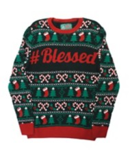 Men's Ugly Christmas Sweater Blessed Sweater