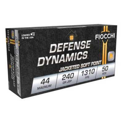 Fiocchi SD Ammo 44 Rem Mag 240gr JSP 50/bx