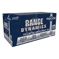 Fiocchi 223 Rem 55gr FMJBT 50/bx