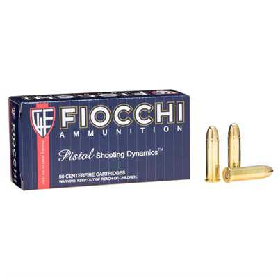 Fiocchi Shooting Dynamics 38 Special 130gr FMJ 50/bx