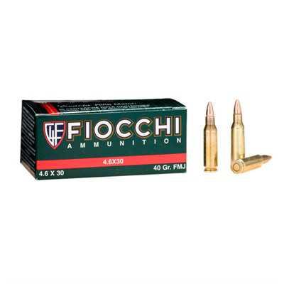 Fiocchi Shooting Dynamics 4.6x30 H&K 40gr FMJ 50/bx