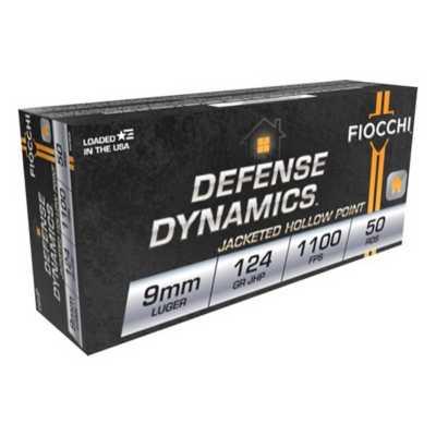 Fiocchi Shooting Dynamics 9mm 124gr JHP 50/bx