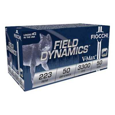 Fiocchi 223 Rem 50gr V-Max 50/bx