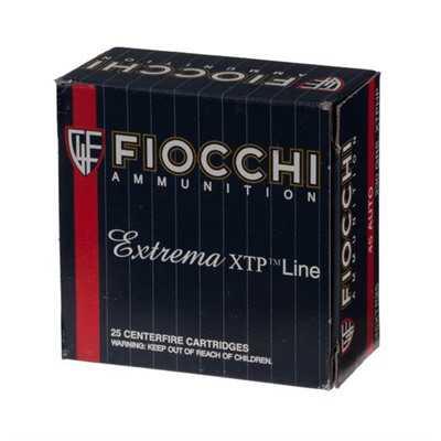 Fiocchi Extrema 45 Auto 200gr XTP HP 25/bx