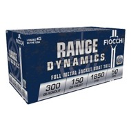 Fiocchi Ammo 300 BLK 150gr FMJBT 50/bx