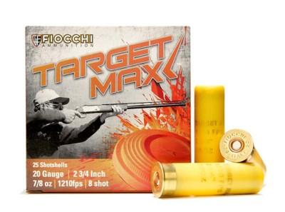 Fiocchi Scheels Exclusive Target Max 20 Gauge Shotshells