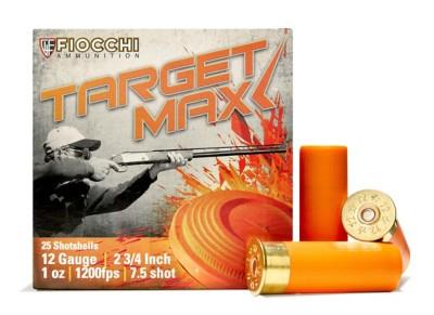 Fiocchi Scheels Exclusive Heavy Target Max 12 Gauge 7.5 Shot 1 oz Shotshell Case