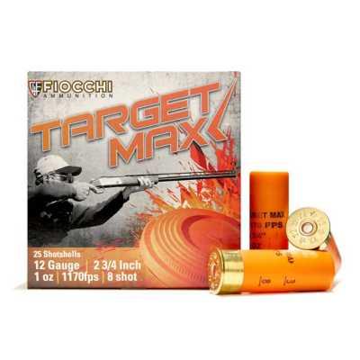 Fiocchi Scheels Exclusive Light Target Max 12 Gauge 8 Shot 1 oz Shotshell Case