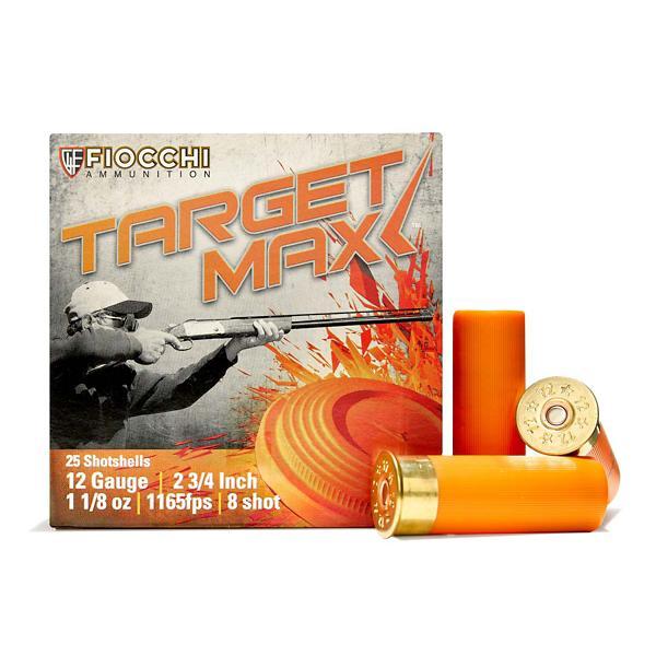 Fiocchi Scheels Exclusive Light Target Max 12 Gauge 8 Shot 1 1/8 oz  Shotshell Case