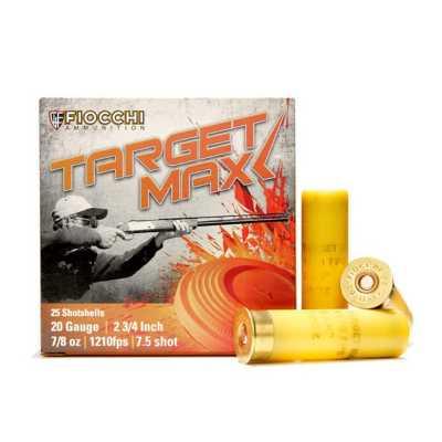 Fiocchi Scheels Exclusive Target Max 20 Gauge 7.5 Shot 7/8 oz Shotshell Case